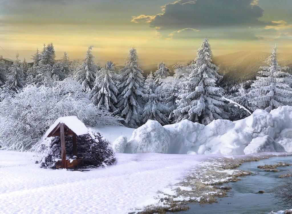 Winter landscape by chevronguy