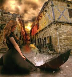 umbrella by chevronguy