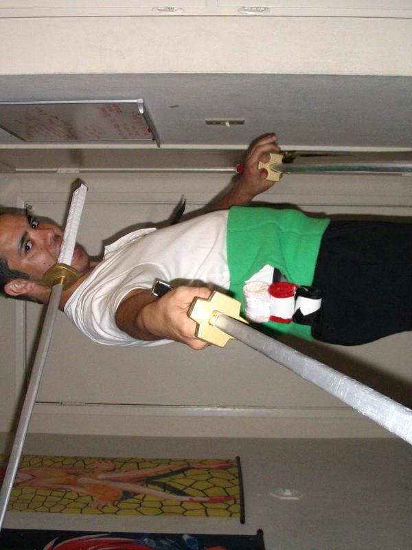 Roronoa Zoro Swords Cosplay Zoro Cosplay Test 2 by...