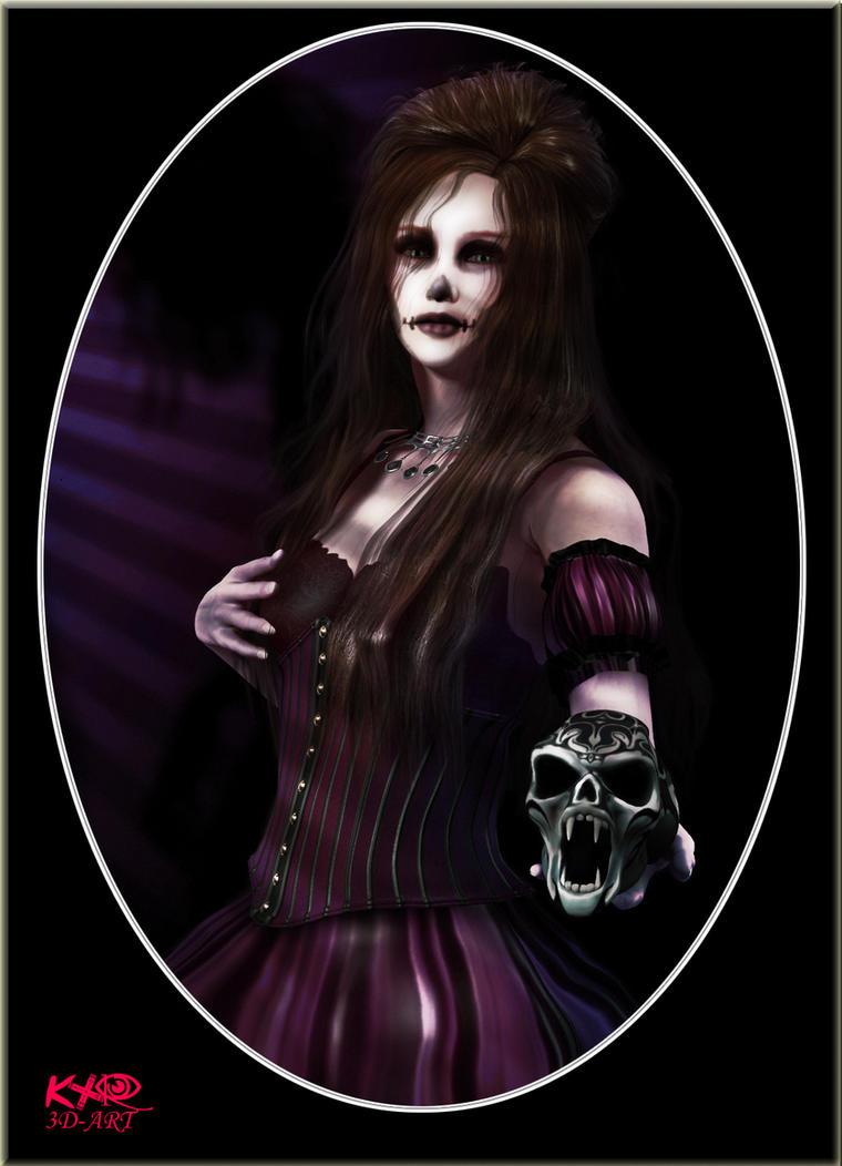 Dia de los muertos by K-raven