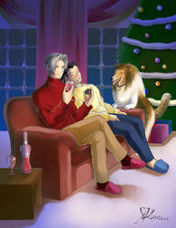 EdgeyxNick - Xmas Eve by StudioKawaii