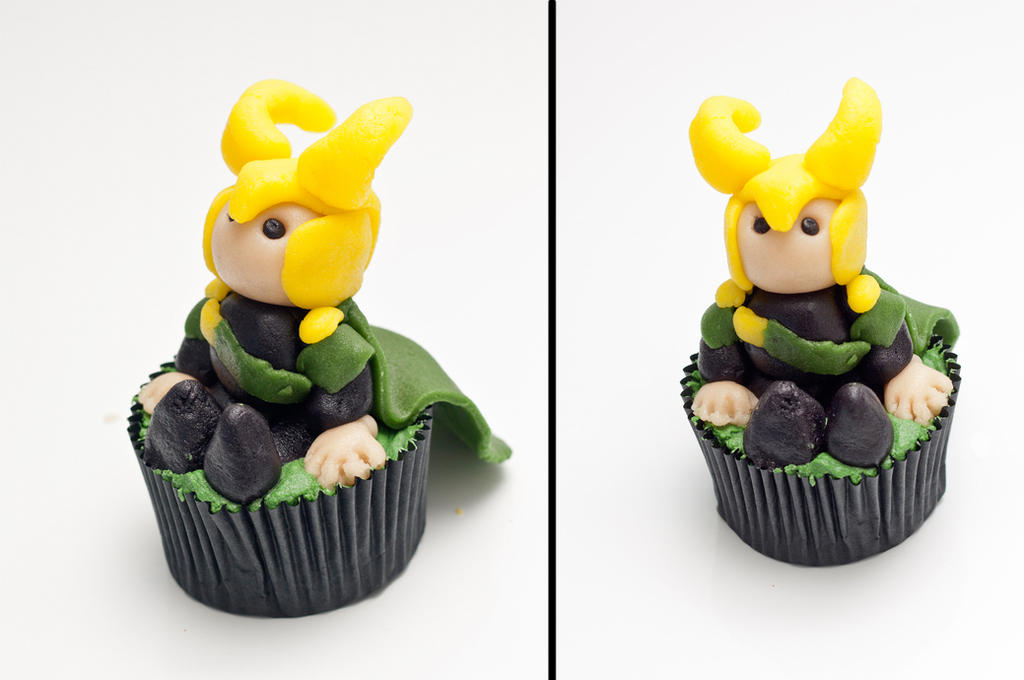 Loki cupcake by StudioKawaii
