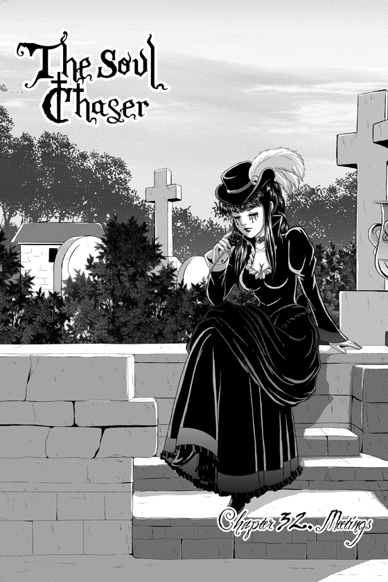 The Soul Chaser-Chapter 32 cover by StudioKawaii