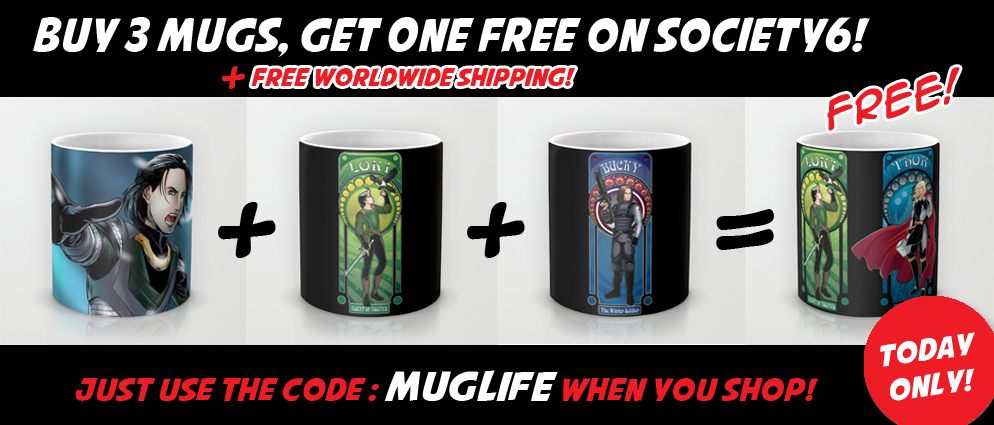 Mug promo on society6 today only by studiokawaii on for Society 6 promo code