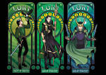 All our Art Nouveau Lokis