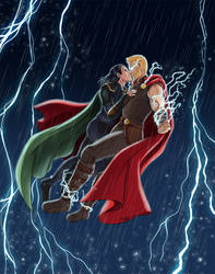 The SeidrMaster and the Stormbringer by StudioKawaii