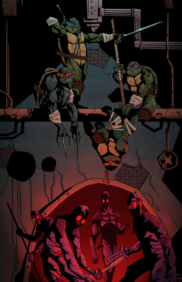 Turtles,vanish... by Fatboy73