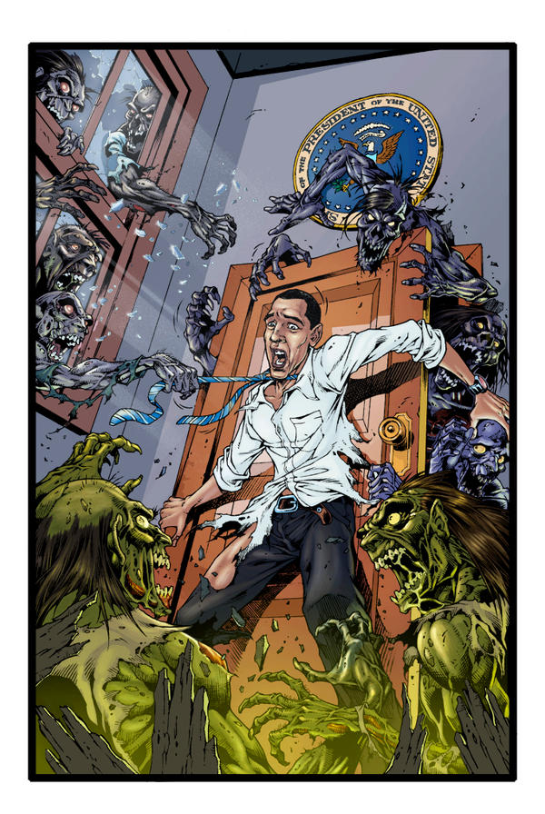 Obama Zombie smaple by Fatboy73