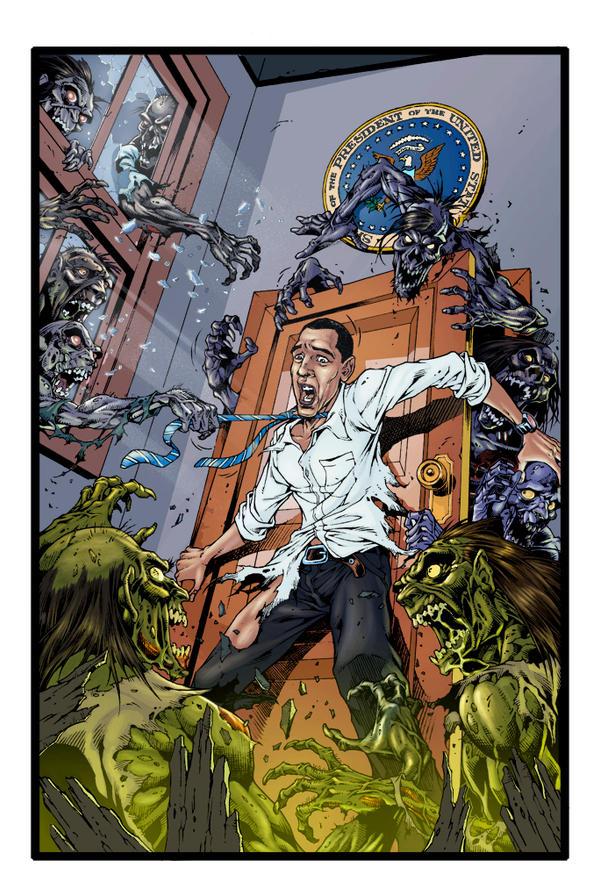 Obama Zombie smaple by Fatboy73