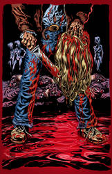Maniac Cover-Kyle Hotz Pencils- Jason Moore Inks by Fatboy73