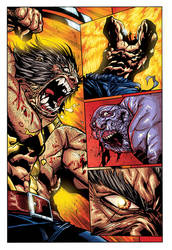 Joe Mad   Savage Wolverine Sequential Sample 1 By  by Fatboy73