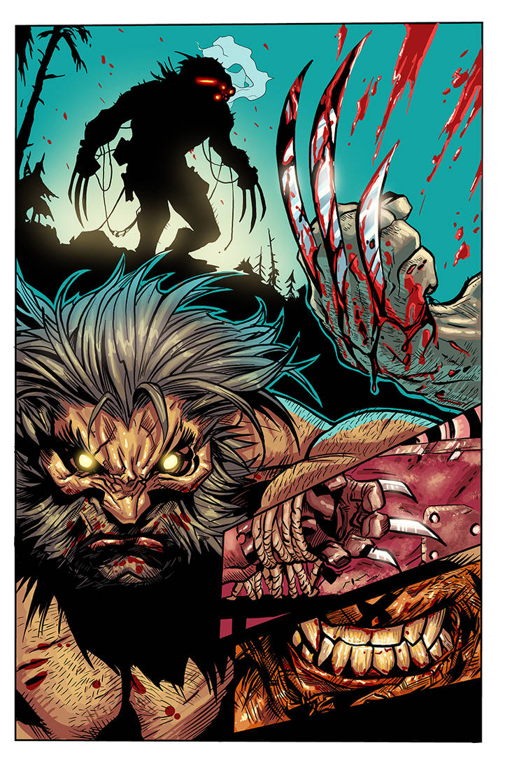 Joe Mad   Savage Wolverine Sequential Sample 2 By  by Fatboy73