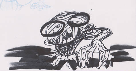 Zombie Sketch 2 by soggygrits