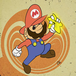 Super Mario by soggygrits