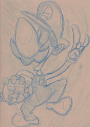 Luigi by soggygrits