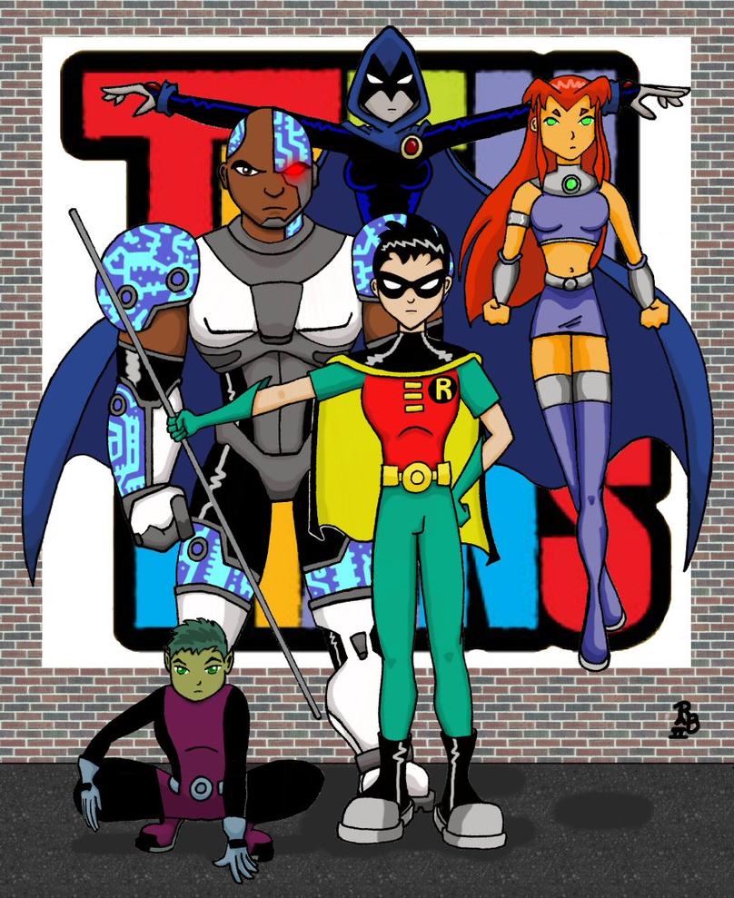 Teen Titans gehen Tapete - Live Wallpaper HD Desktop