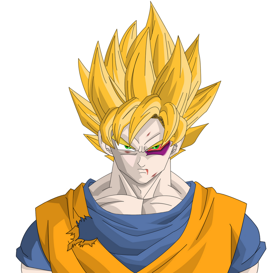 Dragon ball z goku by herohd on deviantart for Portefeuille dragon ball z