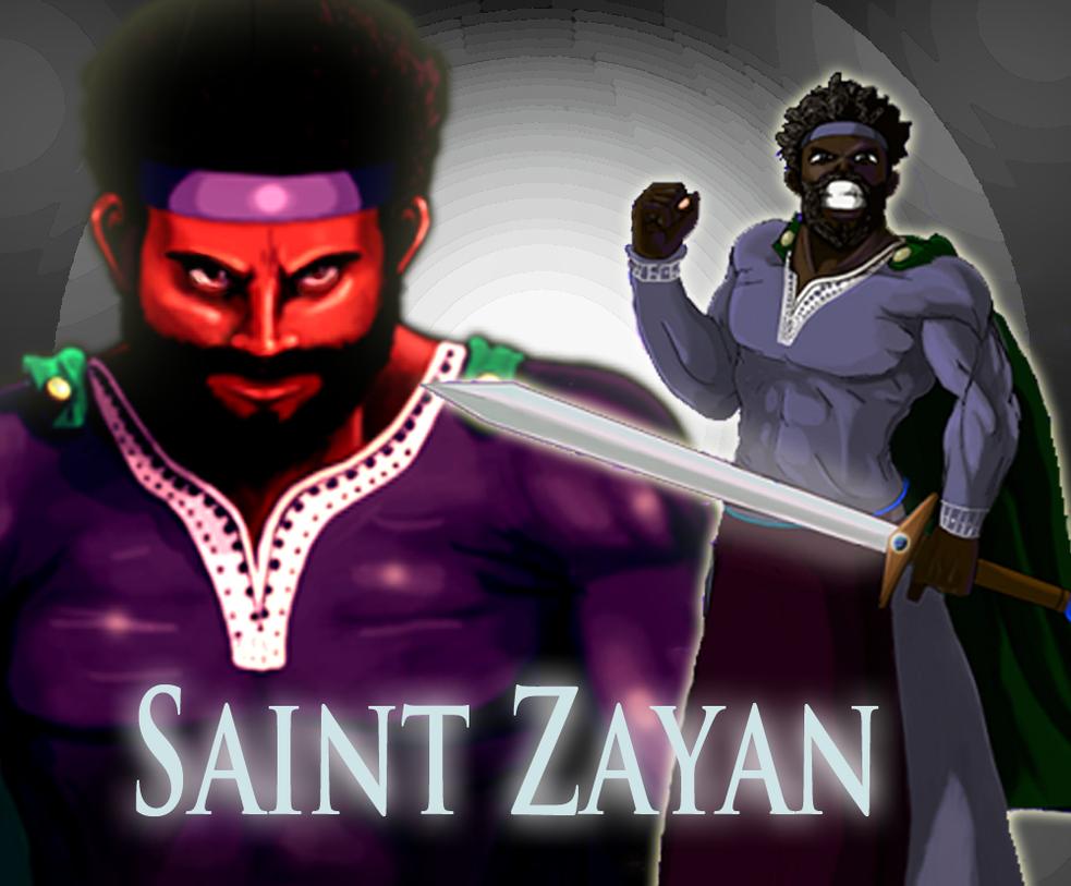 Saint Zayan (New) by AntagonistDC