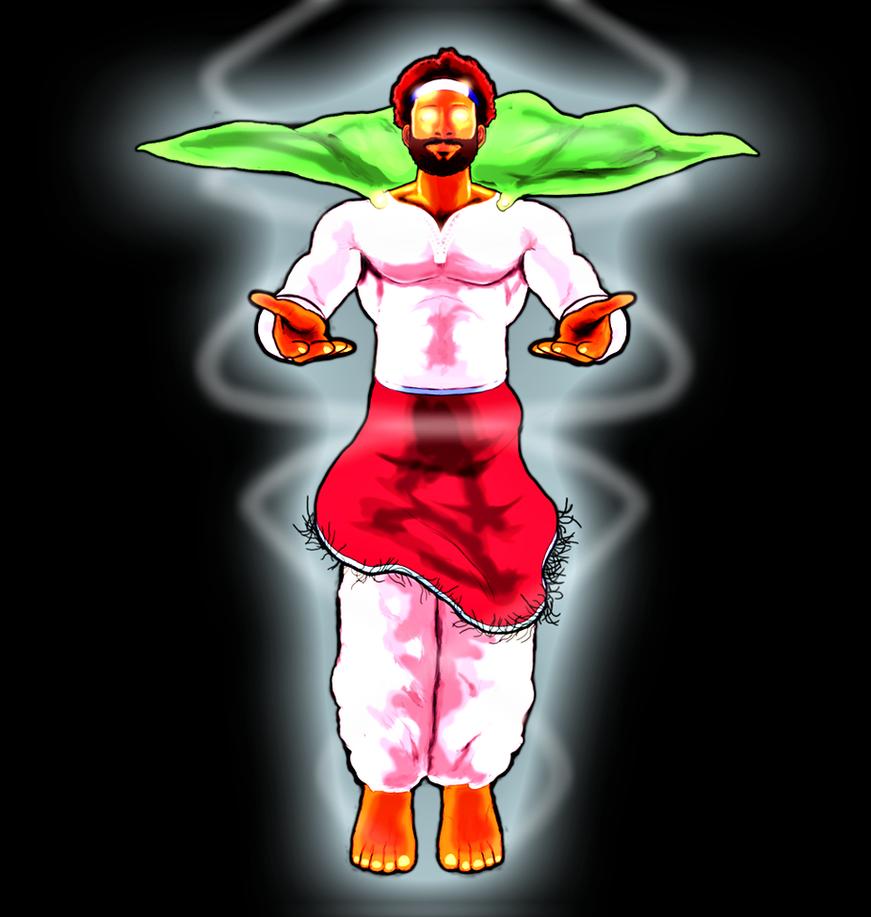 Saint Zayan (Spirit-Form) (N-Groove) by AntagonistDC