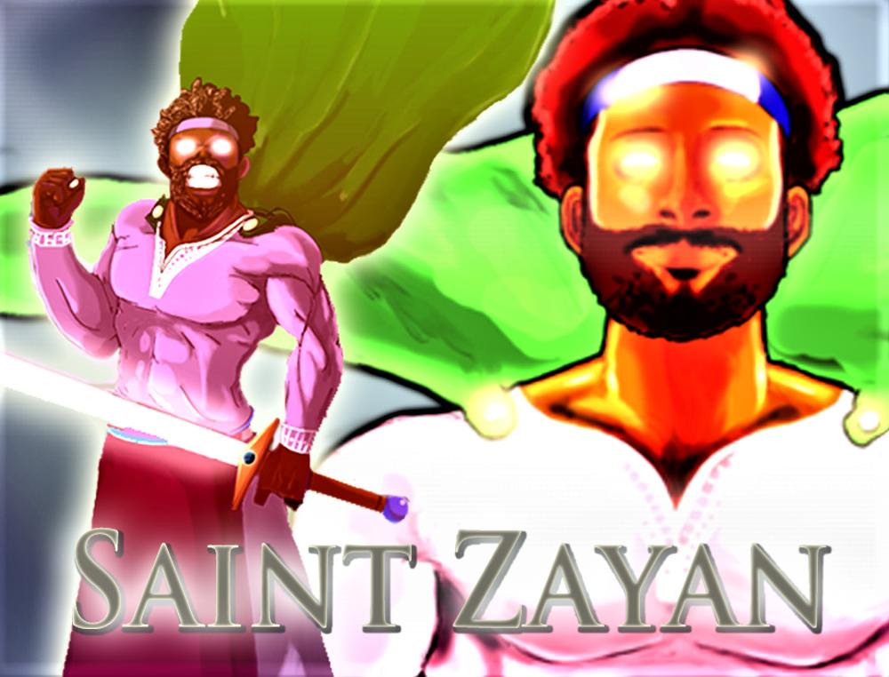 Saint Zayan (Spirit Form) (New) by AntagonistDC