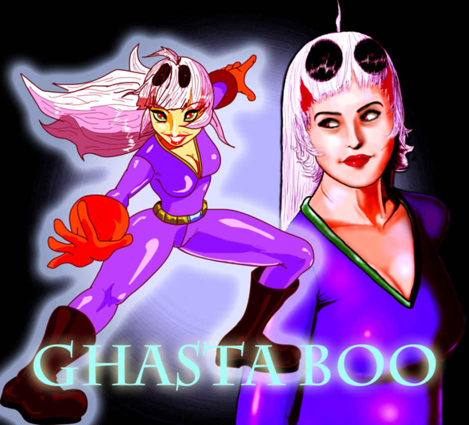Ghasta Boo (Requested) by AntagonistDC