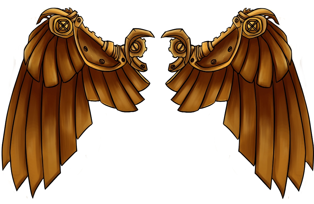 Clockwork Wings by RobinF