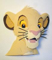 Simba Version 2 by paperfetish