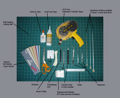 Paper Sculpting Tutorial:Tools by paperfetish