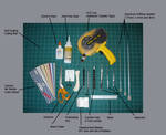 Paper Sculpting Tutorial:Tools