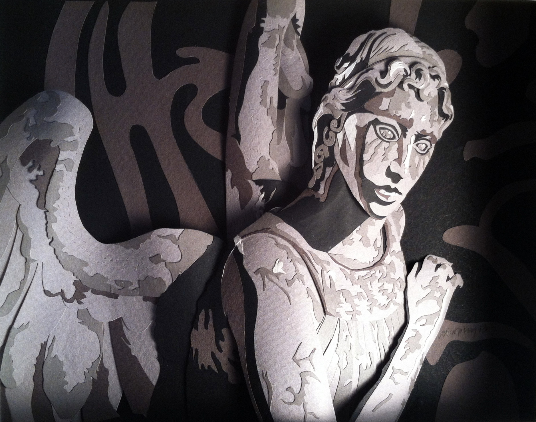 Weeping Angel by paperfetish