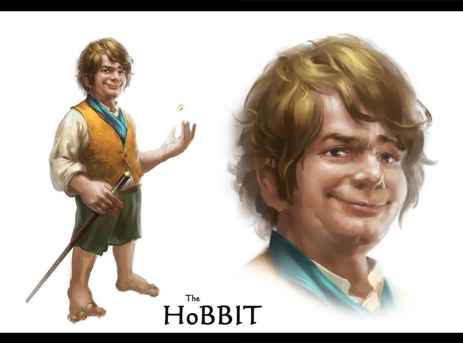 The Hobbit by zippo514