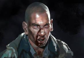 The walking dead Shane by zippo514