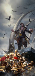 Kingsmoot Euron Greyjoy by zippo514