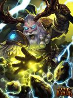 Dwarf Druid lv2 by zippo514
