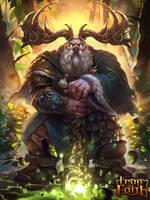 Dwarf Druid lv1 by zippo514