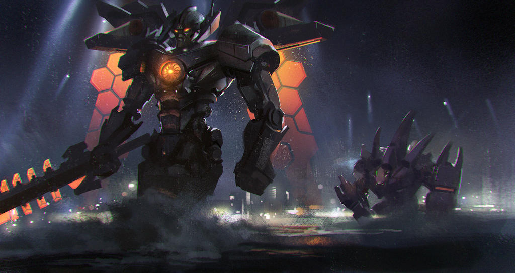Mecha Aatrox and Mecha Malphite by zippo514 on DeviantArt