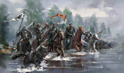 King Robb's South War