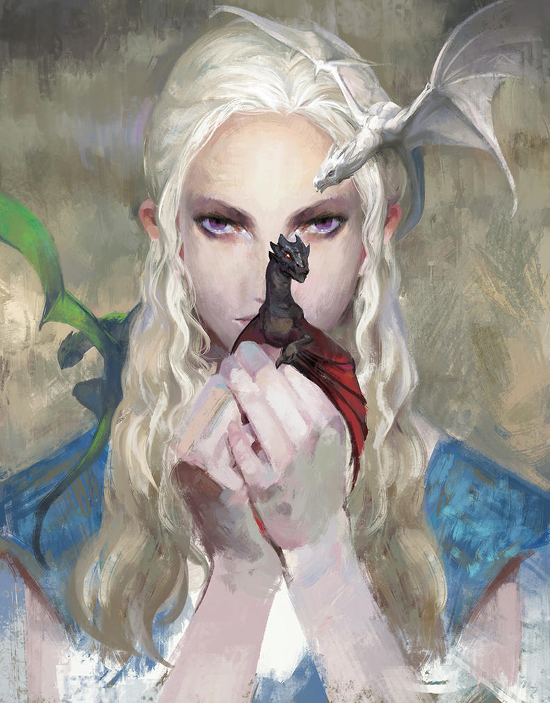 Daenerys Targaryen by zippo514