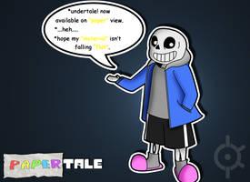 Undertale - Paper Sans (Papertale) by MasterKtheUndying