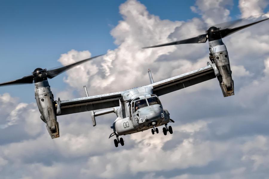 Osprey Approaching by aviationbuff