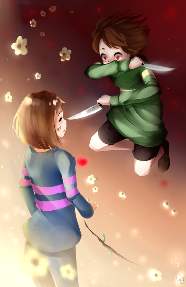 chara and frisk