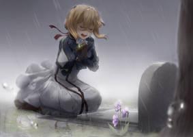 [Violet Evergarden Fanart] (Spoiler) Shattering