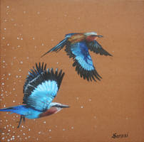 Snow Flight by Saraais