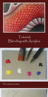 Tutorial: Blending with Acrylics