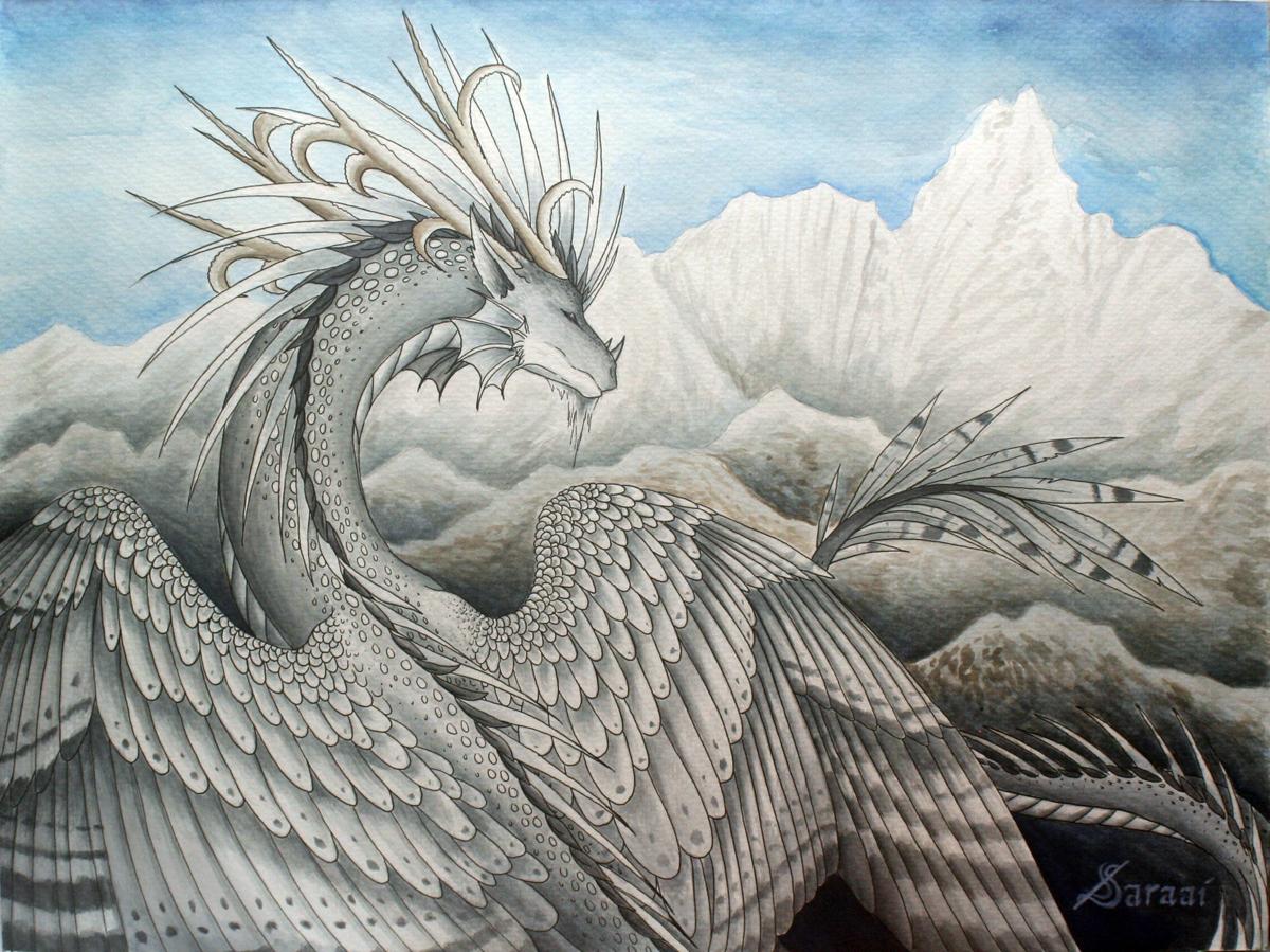 Winter Breeze by Saraais