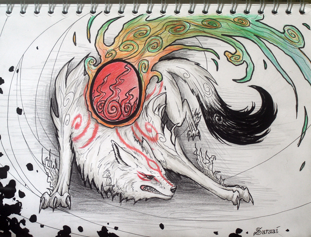 Amaterasu by Saraais