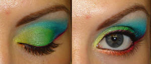 Rainbow Eyes I