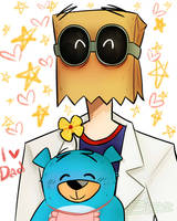Flug and his bby by ZipperQwerty
