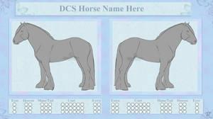 Draft Horse Design Lines