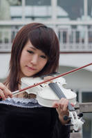girl with violin8 by xiaochi